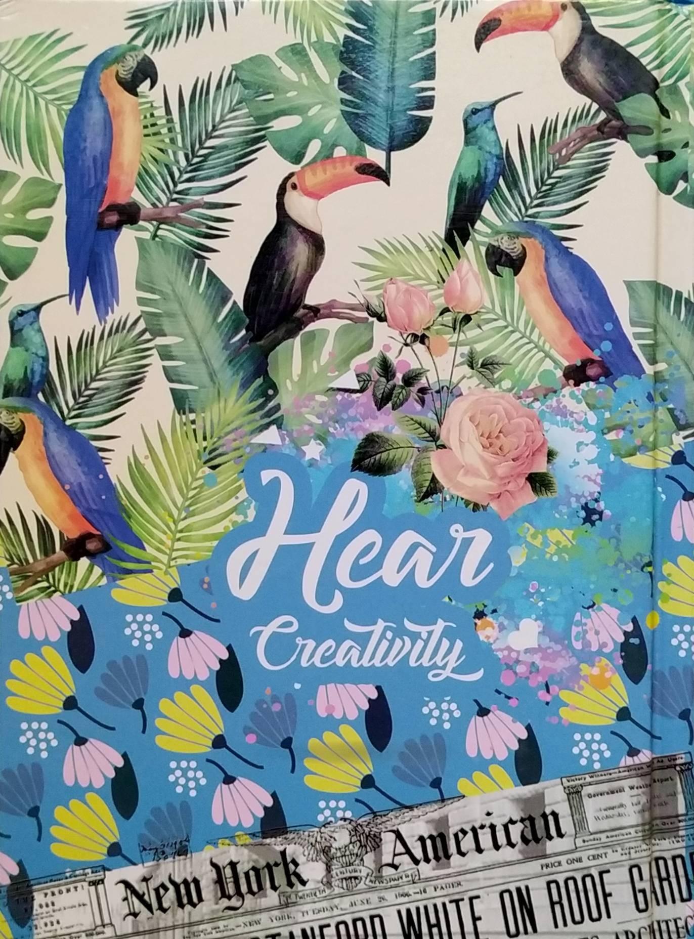(note book)  Hear Creativity